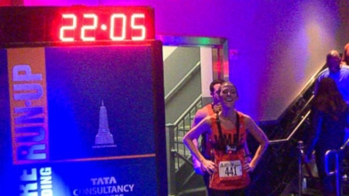 marci gonzalez to do empire state building run up video
