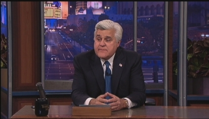 Jay Leno Gives Tearful Final Farewell