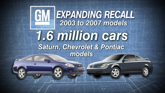 GM Adds More Vehicles to Ignition Switch Recall