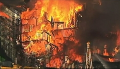 Raging Inferno Destroys San Francisco Apartment Building
