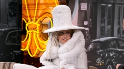 Lady Gaga Dons Coffee Filter Dress