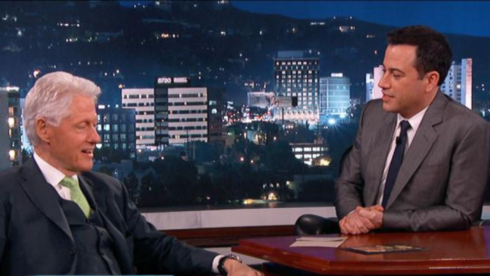Bill Clinton Guests on Jimmy Kimmel
