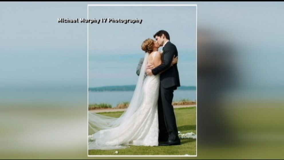 ginger zee s wedding day video   abc news