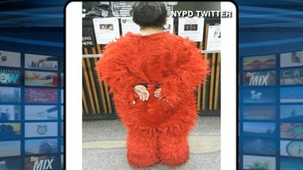 Elmo Gets Arrested