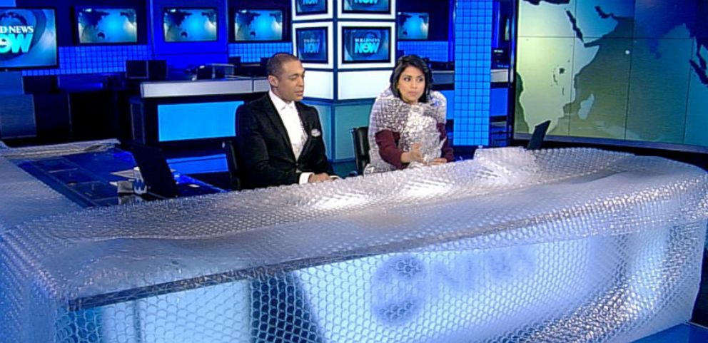VIDEO: World News Now pays homage to bubble wrap.