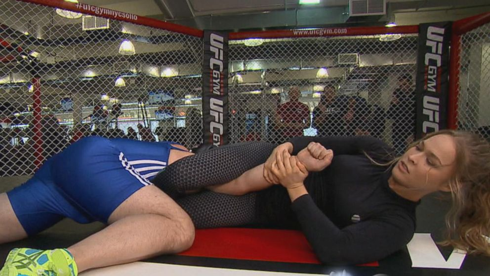 Tom Kelly Talks About Facing Ufc Champ Rhonda Rousey Video