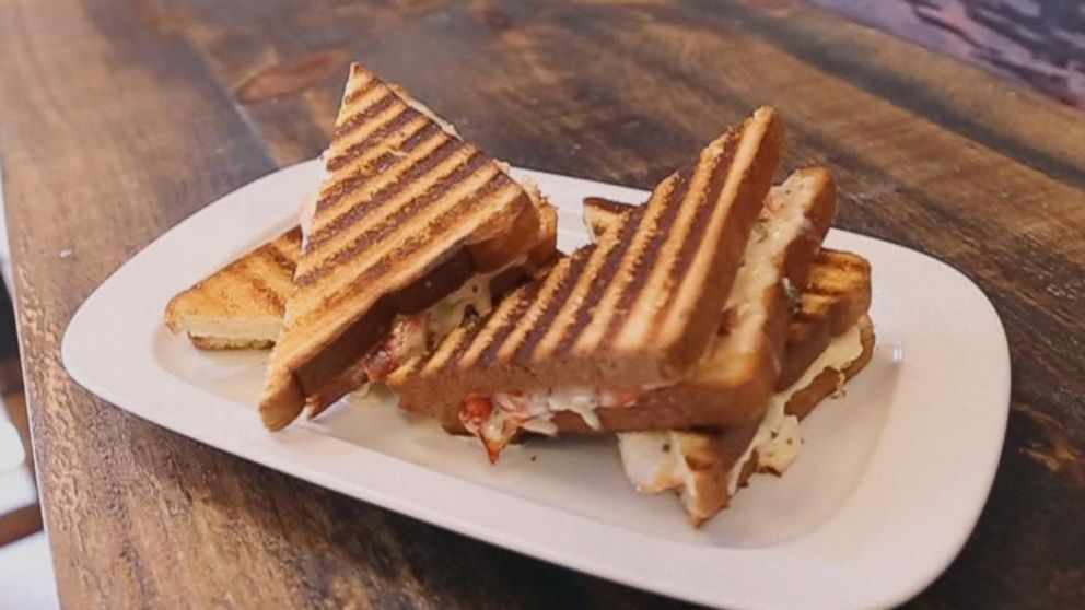 Old-Fashioned Grilled Cheese Goes Gourmet