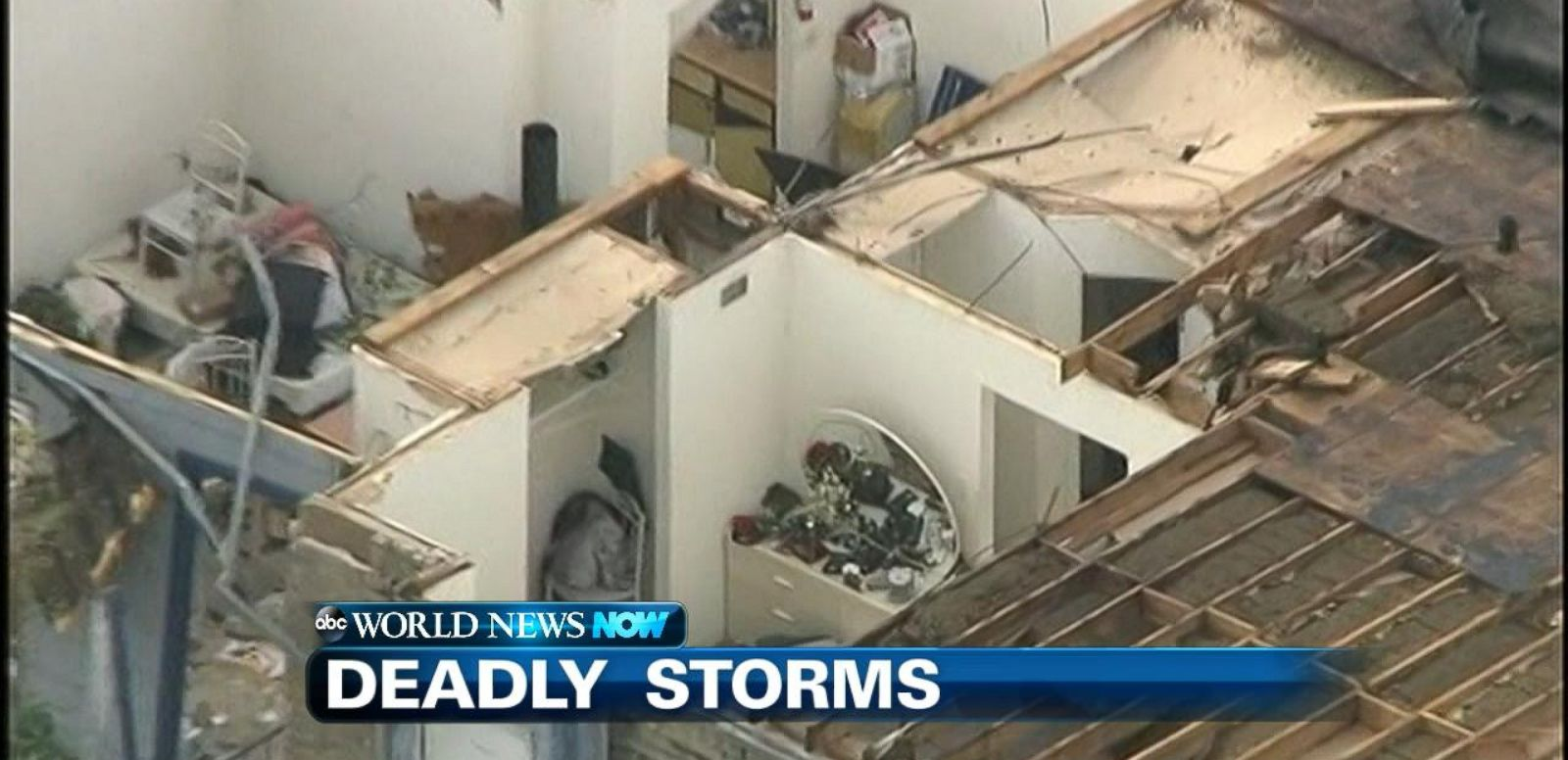VIDEO: Killer storms slam parts of Texas and Oklahoma.