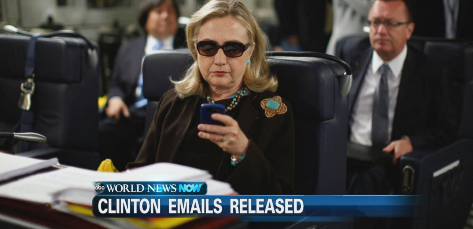 VIDEO: More than 7,000 of Hillary Clinton's emails were released Monday night by the State Department.