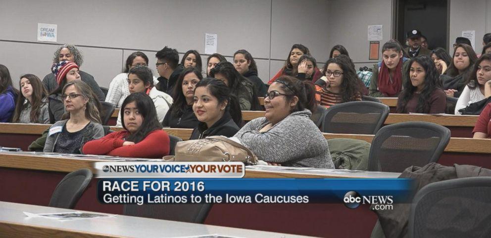 VIDEO: Iowa Activists Encourages Latinos to Vote