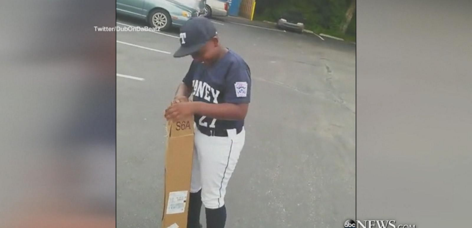 VIDEO: Dad Surprises Son with a New Baseball Bat for His Birthday