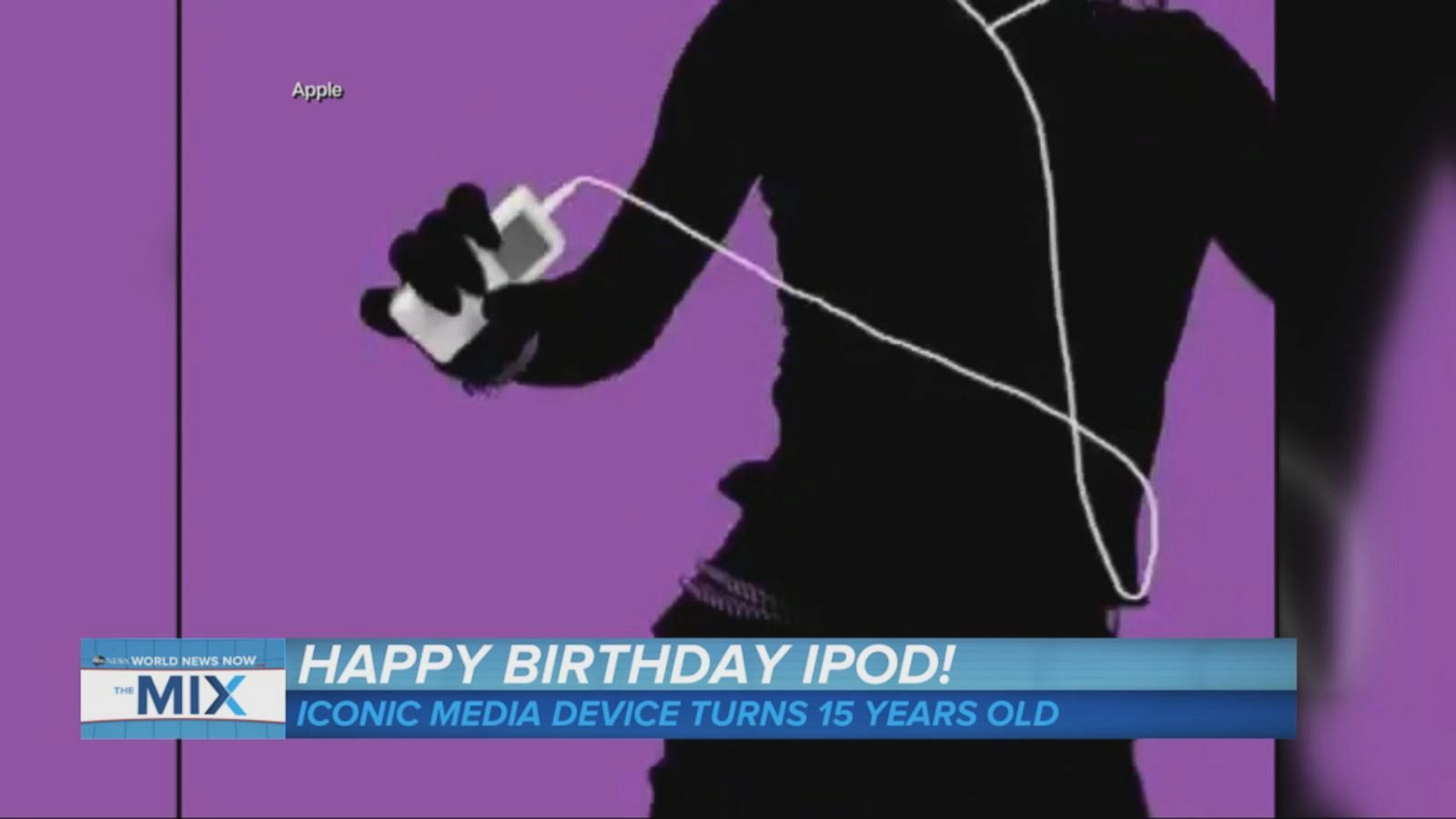 VIDEO: The Apple iPod Reaches a Milestone