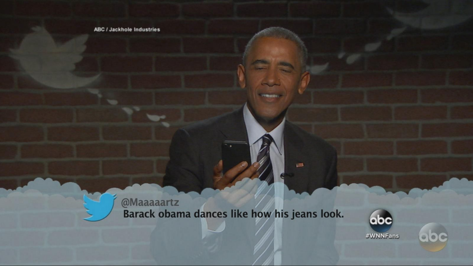 VIDEO: President Obama Reads 'Mean Tweets' on Jimmy Kimmel Live