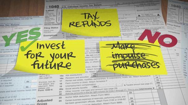 VIDEO:  Tax refund tips