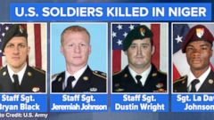 VIDEO: Niger ambush investigation begins after soldiers deaths