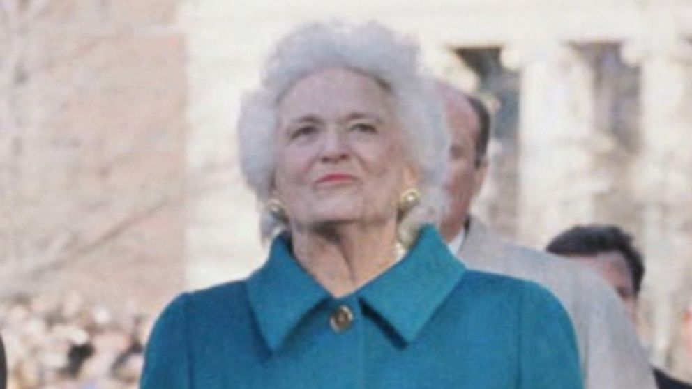 Friday Rewind: Barbara Bush passed away