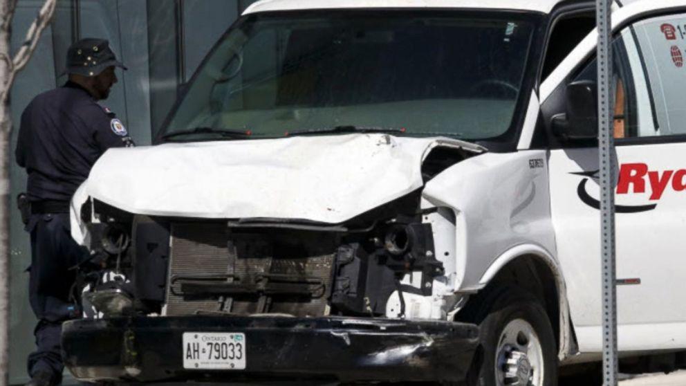 Search for motive in Toronto van attack underway