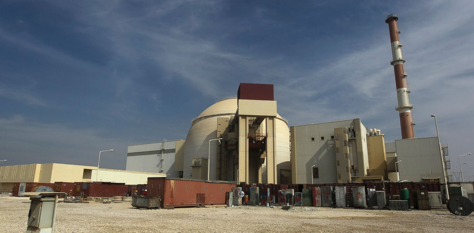 PHOTO: The reactor building of the Bushehr nuclear power plant just outside the southern city of Bushehr, Iran, Oct. 26, 2010.