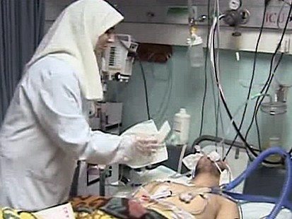 VIDEO: Killed, Wounded Overwhelm Gaza Hospital