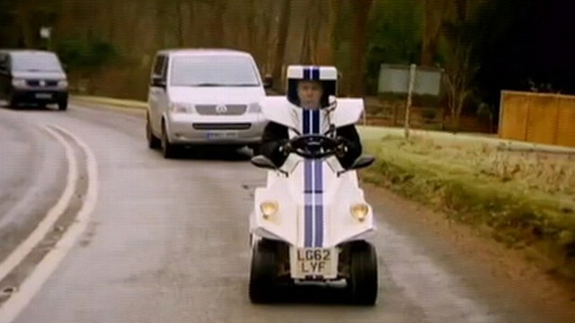 Top Gear Host Test Drives Worlds Tiniest Car