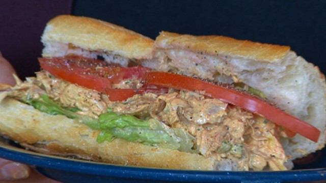 The Dinosaur BBQ Serves Up a Chicken Sandwi