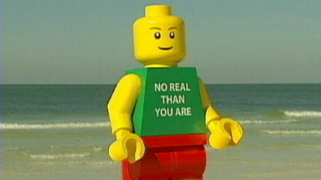 Giant Lego Man Washes Up on Florida Beach; Police Take It Into ...