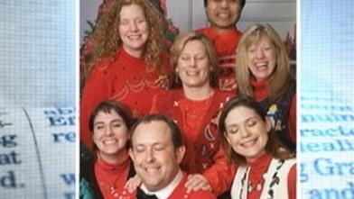 Tony Blair's Awkward Christmas Card Photo Goes Viral Video - ABC News