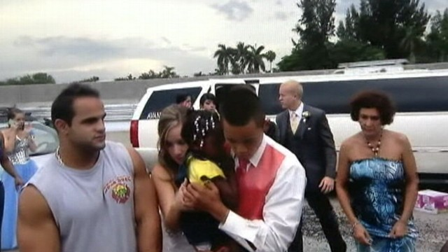 Video: Teens Make Save on Way to Prom
