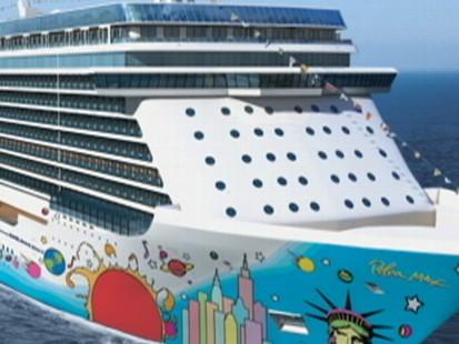 Mega Ship Inspired by New York City