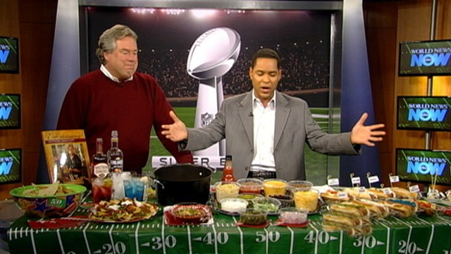WNN: Lairds Super Bowl Snacking
