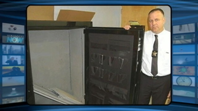 VIDEO: An Ohio man found 300 pounds of marijuana in an empty gun safe.