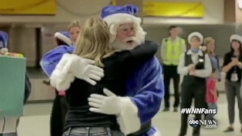VIDEO: Travelers at two Canadian airports had their gifts granted by WestJet Airlines.