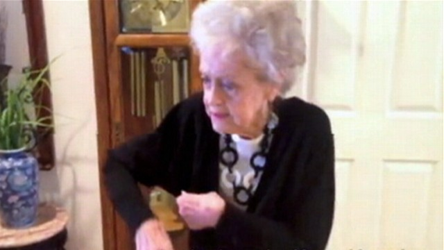 VIDEO: A 90-year-old woman busts a move to Whitney Houstons I Wanna Dance With Somebody.