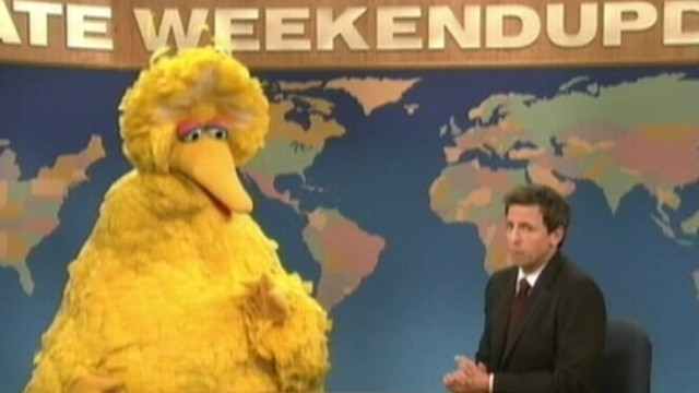 VIDEO: Big Bird is quiet when it comes to the presidential election.