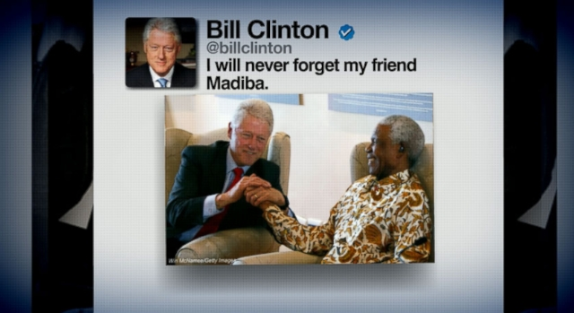 Video: World of Social Media Reacts to Death of Nelson Mandela