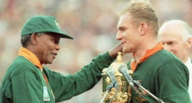 "Video: Spirit of Nelson Mandela Captured in Shining Moment of ""Invictus"""