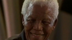 Nelson Mandela inspired the world over with passionate speeches of racial equality.