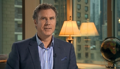 Will Ferrell lights up silver screen with hilarious life lessons from his TV-ready alter ego.