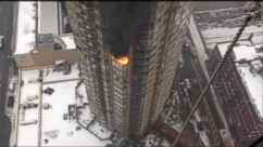 High Rise Terror:  Massive Blaze on the 20th Floor