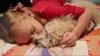 VIDEO: The unbreakable bond between a young girl with allergies and her dog.