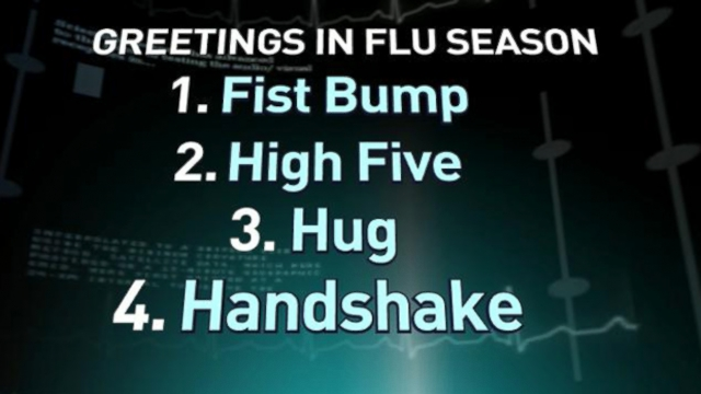 VIDEO: The H1N1 strain of the flu can be deadly. Heres Dr. Richard Besser with the best way to lessen exposure.