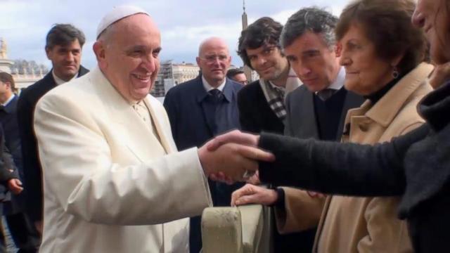 Real Life Philomena Meets Pope Francis At The Vatican