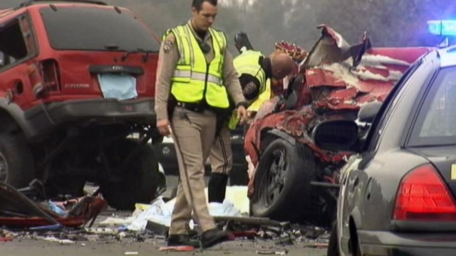 11 Dead In Two Horrific Wrong Way Crashes Video Abc News