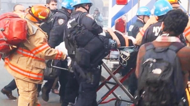 VIDEO: Rescuers sift through rubble of NYC explosion