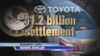 VIDEO: Toyota Paying $1.2 Billion Penalty