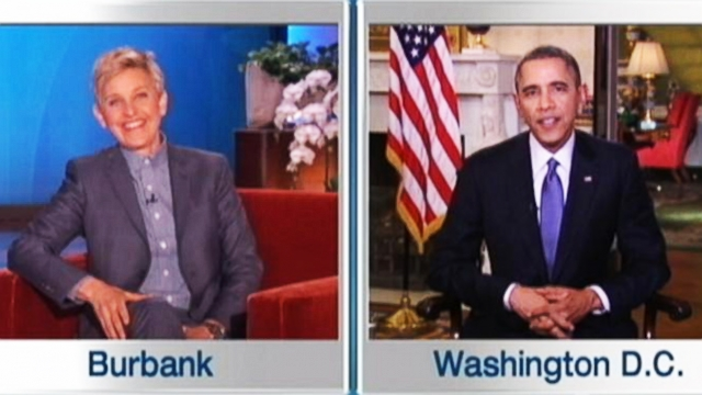 VIDEO: Instant Index: President Obama and Ellen Discuss Record-Breaking Oscar Tweets