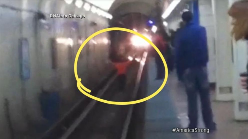 Amazing Train Rescue in Chicago