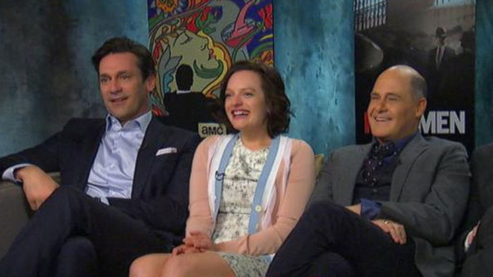 VIDEO: Mad Men Cast Reveals Hidden Talents With Diane Sawyer