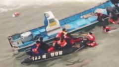 VIDEO: Captain Abandons Ferry That Sunk Off South Korea