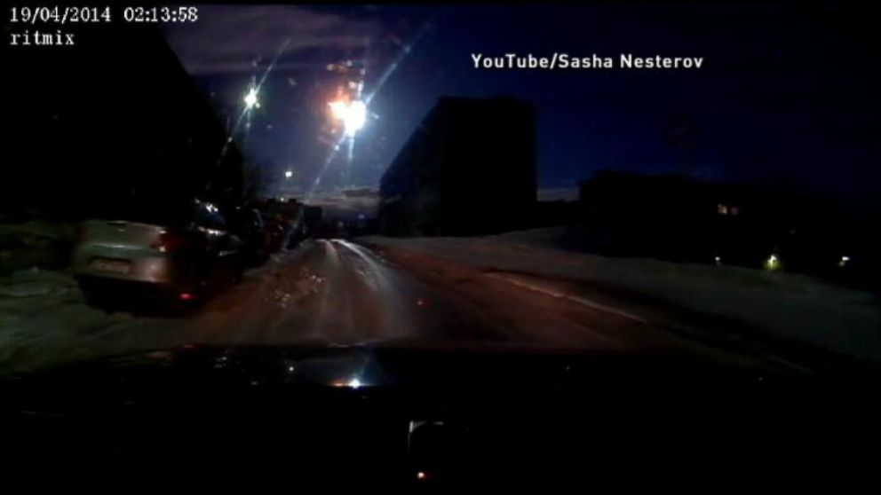 Murmansk Meteor Sighting